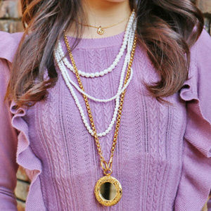 CHANEL Jewelry - AUTHENTIC CHANEL NECKLACE AND PENDANT